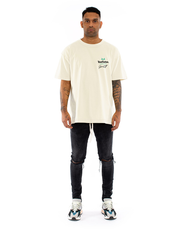 F-GT REVERSED OFF-WHITE TEE – Bild 2