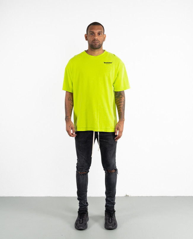 DRP.9 HEAVY LIME DISTRESSED TEE – Bild 2