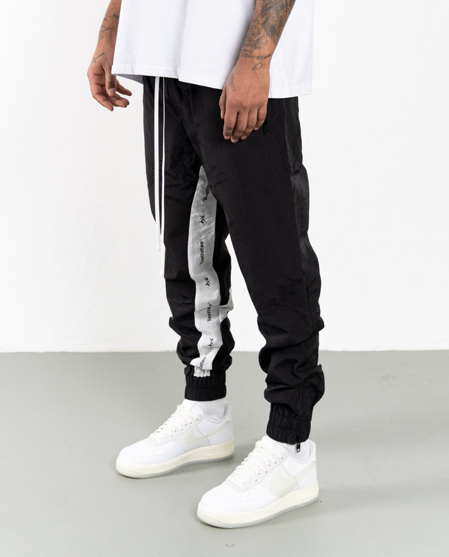DRP.11 FLY TRACK PANTS B/W