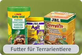 Futter für Terrarientiere