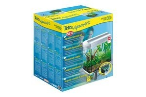 Tetra AquaArt Crayfish Aquarium-Komplett-Set 30 L, anthrazit