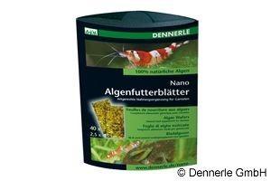 Dennerle Nano Algenfutterblätter, 40 St.