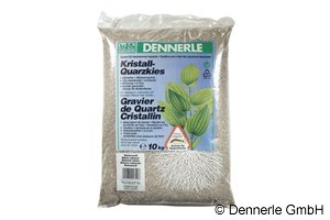 Dennerle Kristall-Quarzkies, Farbkies, naturweiß, 10 Kg