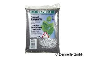 Dennerle Kristall-Quarzkies, Farbkies, schiefergrau, 10 Kg