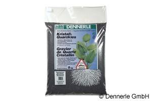Dennerle Kristall-Quarzkies, Farbkies, diamant-schwarz, 5 Kg
