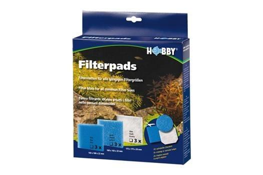 Hobby Filterschaum fein, 160 x 160 x 22 mm, 3 St. (AUSLAUFARTIKEL)