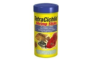 Tetra Cichlid Shrimp Sticks, 250 ml