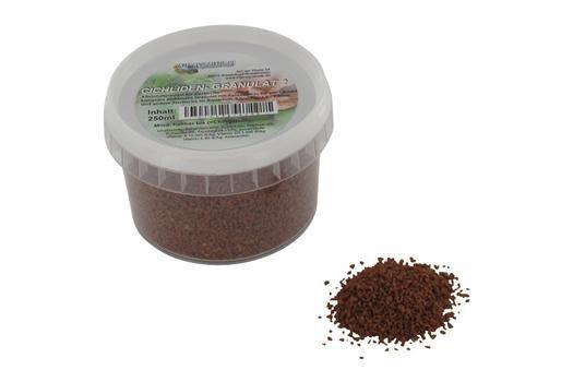 Hausmarke Cichliden-Granulat 2, 250 ml