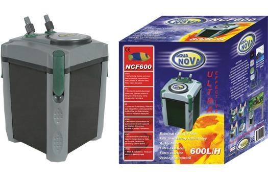 Aqua Nova NCF-600, Außenfilter