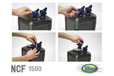 Aqua Nova NCF-1500, Außenfilter – Bild 3