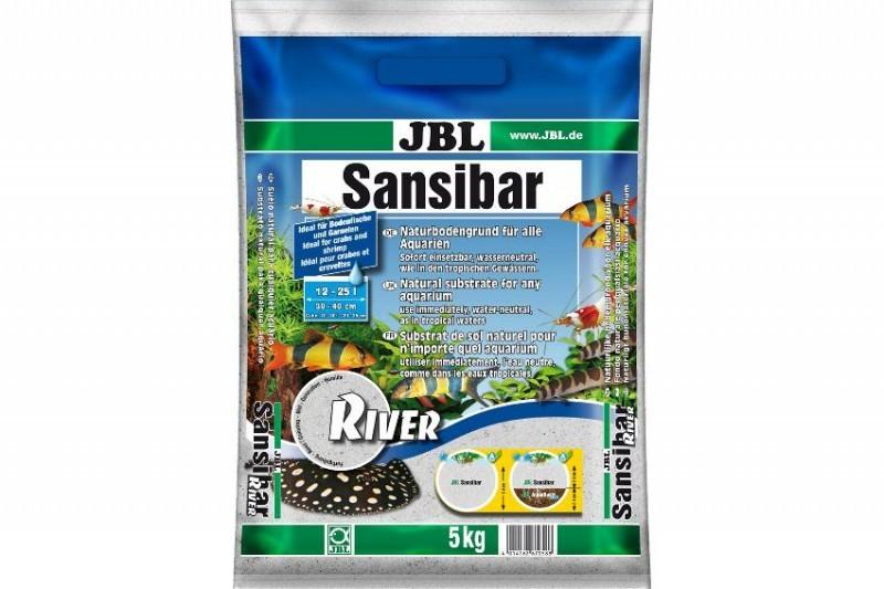 JBL Sansibar River, Aquarium-Naturkies, 5 kg
