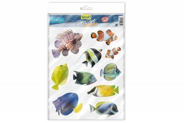 Tetra DecoArt StickerSet Marine Fish