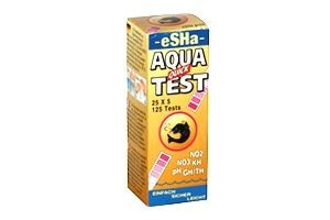 eSHa Aqua Quick Test, 6 in 1, 50 Stk.