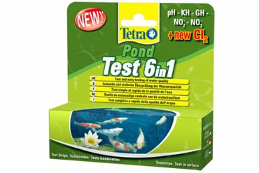 Tetra Pond Test 6in1 25 St.