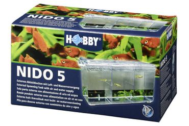 Hobby Nido 5, externer Ablaichbehälter mit Sauerstoffversorgung