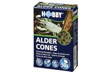 Hobby Alder Cones, Erlenzäpfchen, 50 Stück