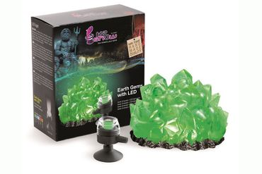 Hydor H2SHOW Earth Gems Green Emerald inkl. LED