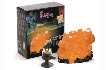 Hydor H2SHOW Earth Gems Orange Citrine inkl. LED