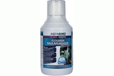 AQUASAN Mulmvec Flüssiger Mulmsauger Plus, 250 ml