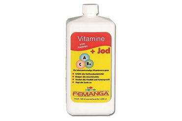 Femanga Vitamine + Jod 1000 ml