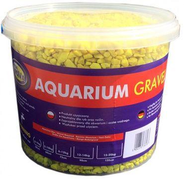 Aqua Nova Farbkies gelb, fluoreszierend 5 kg Eimer