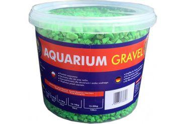 Aqua Nova Farbkies grün, fluoro, 5 kg Eimer