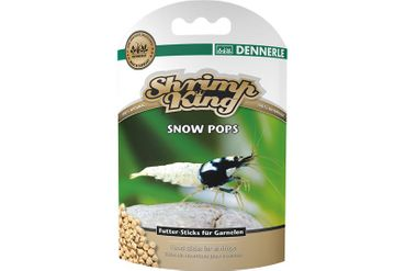 Dennerle Shrimp King Snow Pops, 40 g – Bild 1