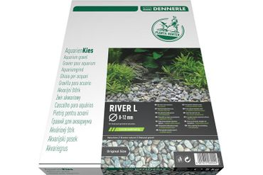 Dennerle Naturkies Plantahunter River L 8-12 mm, 5 KG – Bild 1