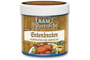 BAM Entenbraten, Futtergranulat für Zierfische, Körnung 0,7-1,4 mm, 130 ml