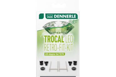 Dennerle Trocal LED Retro-Fit-Kit, Befestigung für LED's in T5/8 Leuchtbalken – Bild 1