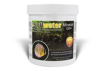 SaltyShrimp Softwater Mineral GH+, 1000g