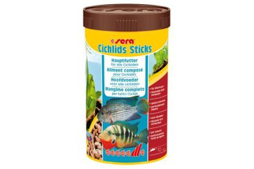 Sera Cichlids Sticks, 250 ml