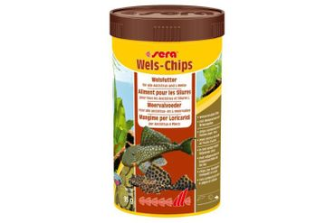 Sera Wels-Chips, 250 ml