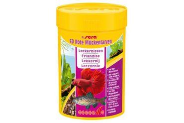 Sera FD Rote Mückenlarven, 100 ml