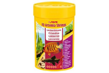 Sera FD Artemia Shrimps, 100 ml
