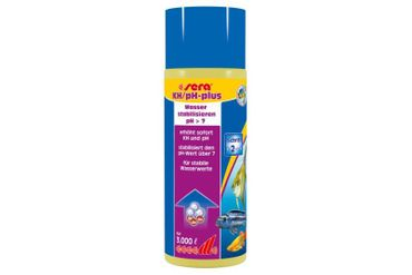 Sera KH / pH-plus - 500 ml - Reichweite: 3.000 Liter