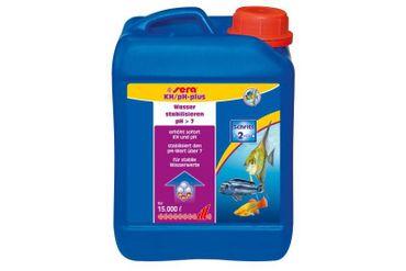 Sera KH / pH-plus - 2.500 ml - Reichweite: 15.000 Liter