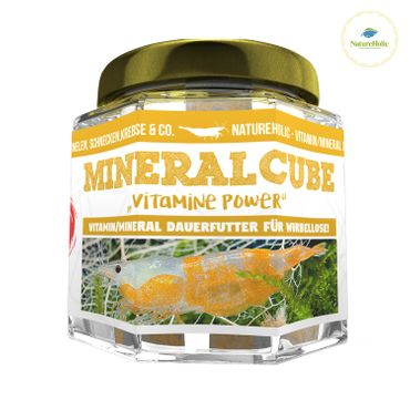 "NatureHolic - MineralCube ""Vitamine Power"" - 47ml - Mineralversorgung + Ferienfutter"