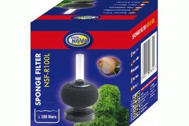 Aqua Nova NSF-R100, Schwammfilter rund, bis 100 Liter