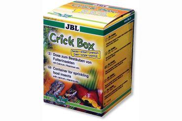 JBL CrickBox, Dose zum Bestäuben von Futterinsekten – Bild 1