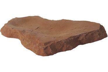 Variogart Futterstelle XL Sandstein-Rot