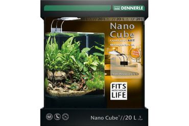 Dennerle NanoCube Complete+ SOIL 20L mit PowerLED 5.0