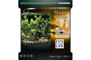 Dennerle NanoCube Complete+ SOIL 30L mit PowerLED 5.0