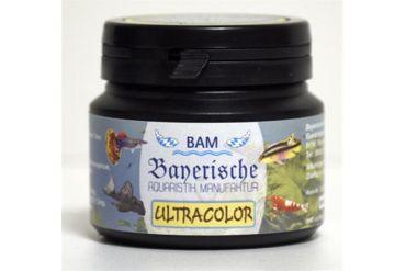 BAM Ultracolor, Futtergranulat für Zierfische, Körnung 0,9-1,4 mm, 100 g