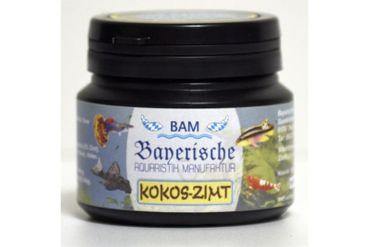 BAM Kokos-Zimt, Futtergranulat für Zierfische, Körnung 0,6-0,9 mm, 100 g