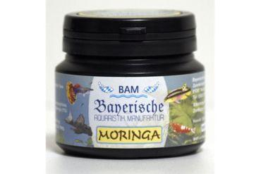 BAM Moringa, Futtergranulat für Zierfische, Körnung 0,9-1,4 mm, 100 g