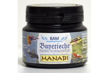 BAM Manabi, Futtergranulat für Zierfische, Körnung 0,9-1,4 mm, 100 g