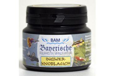 BAM Ingwer-Knoblauch, Futtergranulat für Zierfische, Körnung 0,9-1,4 mm, 100 g