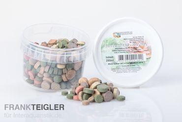 Hausmarke Maximix aus 13 Sorten Futtertabs, 250 ml – Bild 1