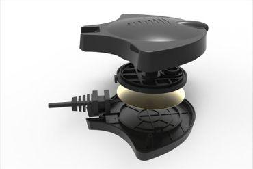 HPumps Nano Piezo Luftpumpe, Manta schwarz 18l/h, Durchlüfterpumpe – Bild 4